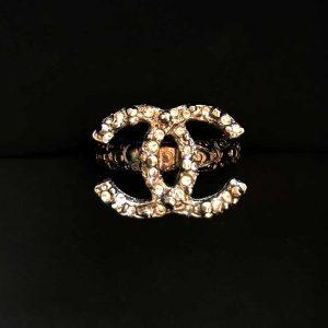 Chanel Swarovski Crystal Ring