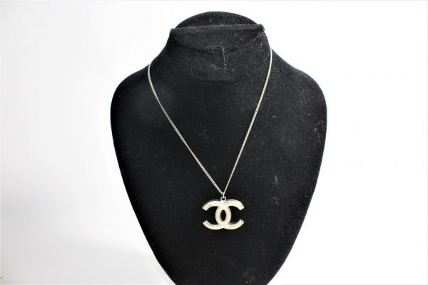 Chanel Swarovski CC Necklace