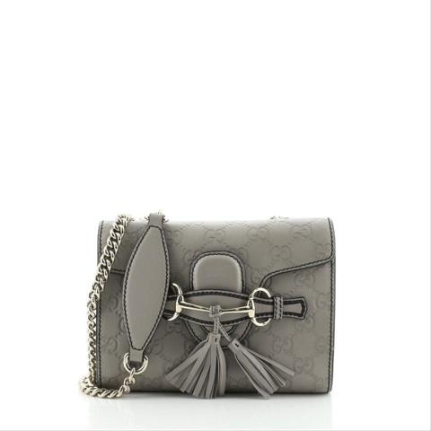 Gucci Emily Mini Guccissima Bag